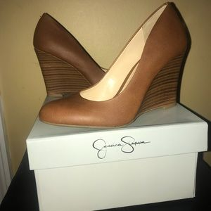 Jessica Simpson Shoes - jessica Simpson wedge shoes brand new never worn